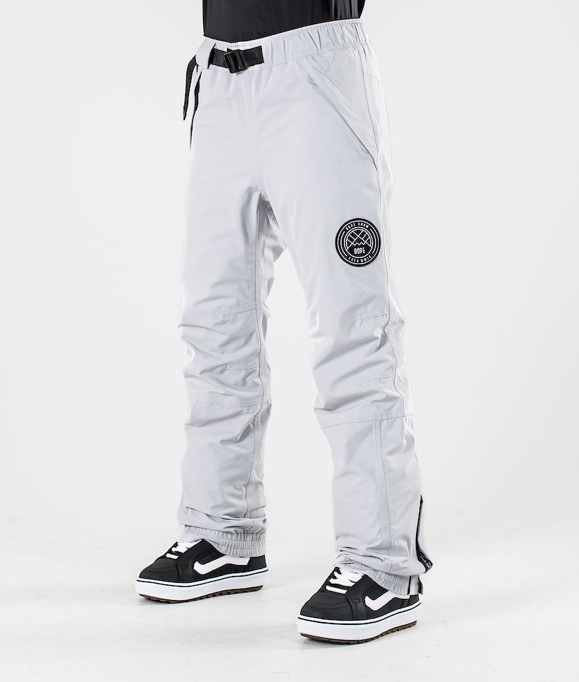 Dope Blizzard W Snowboard Pants Light Grey