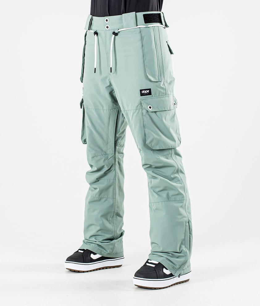 Dope Iconic W Snowboardhose Faded Green