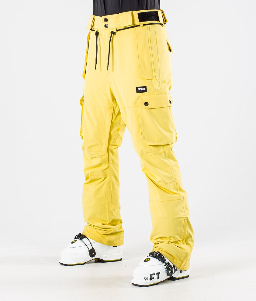 Dope Iconic W Ski Pants Faded Yellow