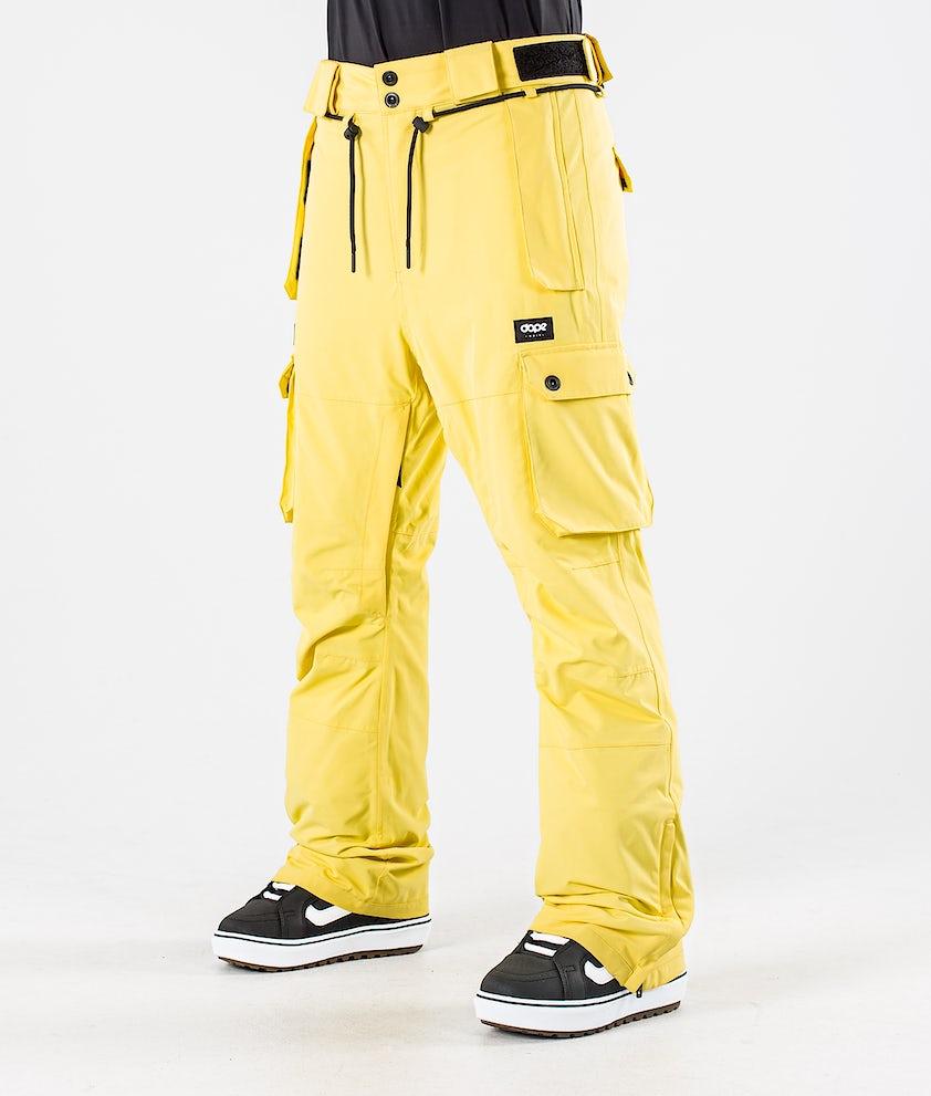 Dope Iconic W Snowboardbukse Faded Yellow