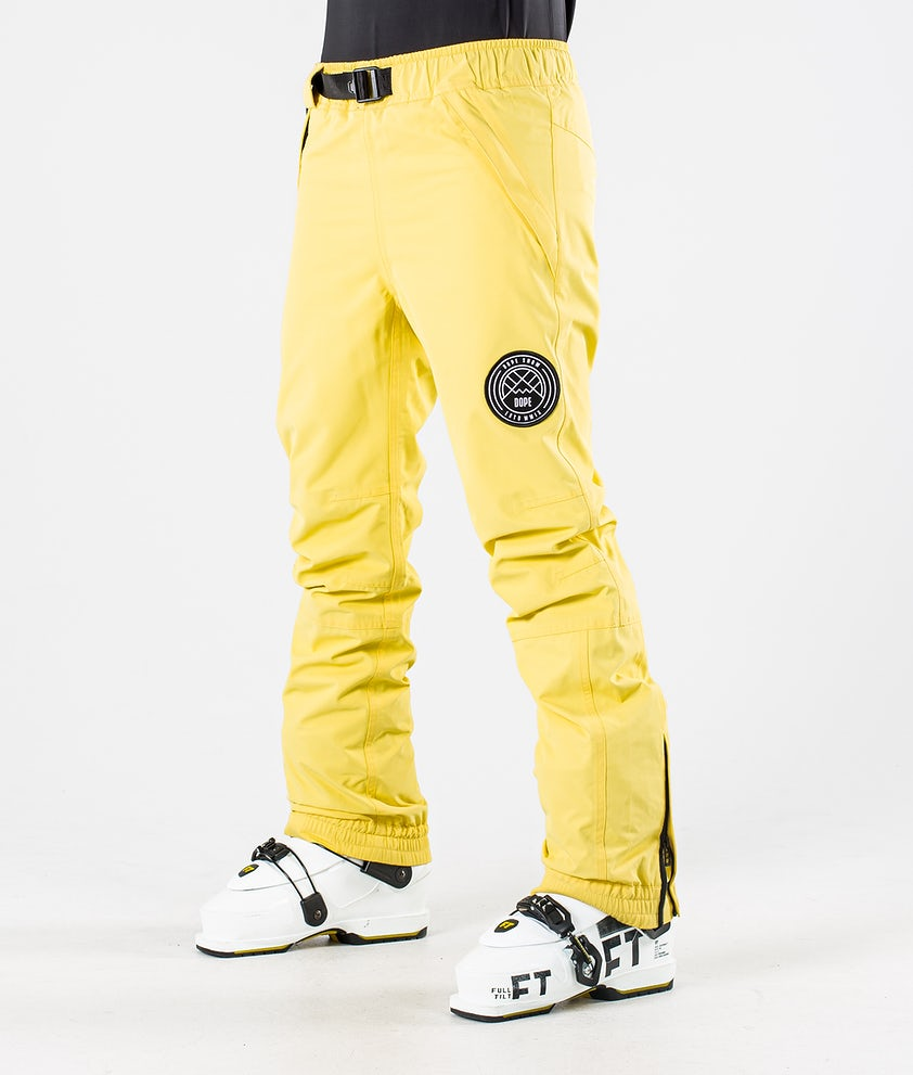 Dope Blizzard W Ski Pants Faded Yellow