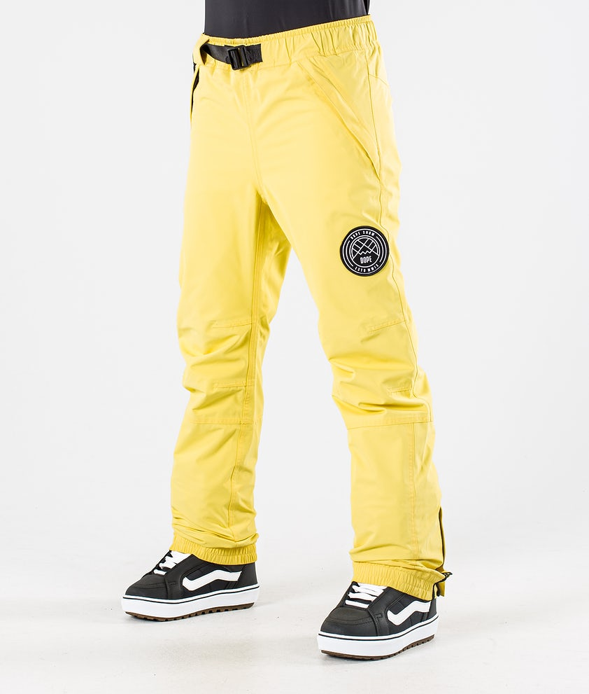 Dope Blizzard W Snowboard Pants Faded Yellow