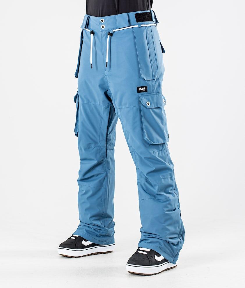 Dope Iconic W Snowboardbukse Blue Steel