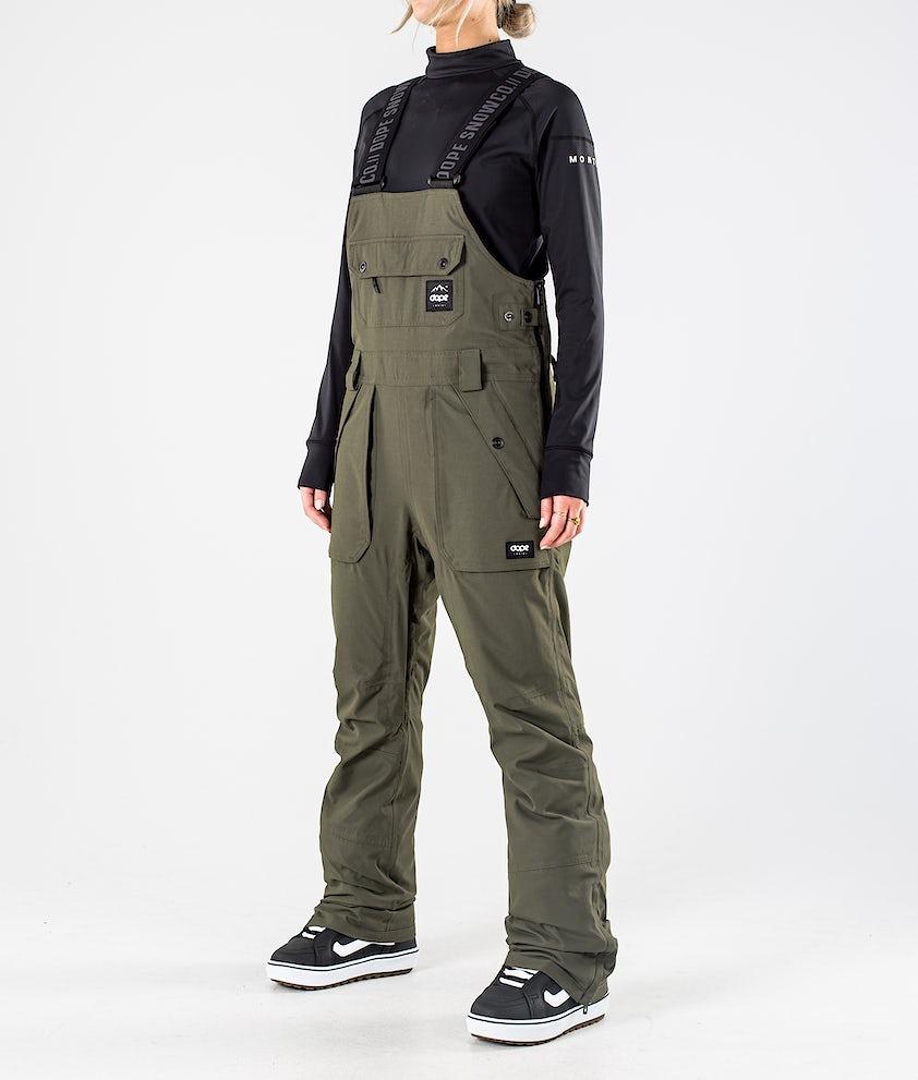 Dope Notorious B.I.B W Snowboardhose Olive Green