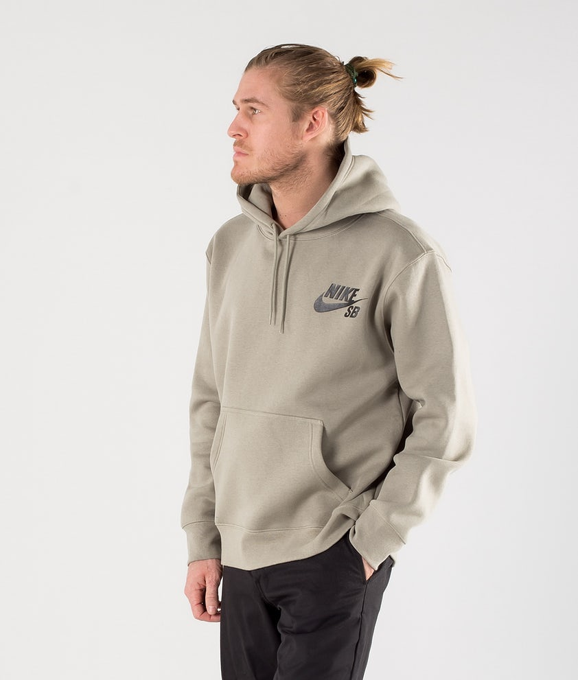 Nike SB Icon Hoodie Light Army/Black