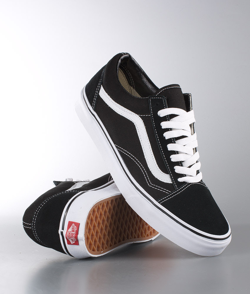 Vans Old Skool Unisex Skor Black/White