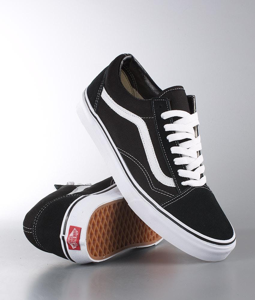 Vans Old Skool Unisex Schoenen Black/White