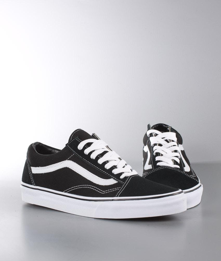 170adc8bb4 Vans Old Skool Unisex Shoes Black White - Ridestore.com