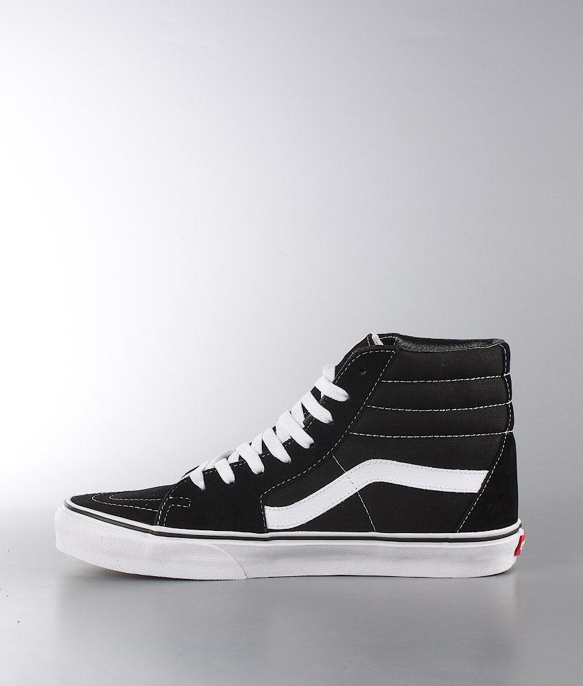 Vans Sk8-Hi Sko Black/Black/White