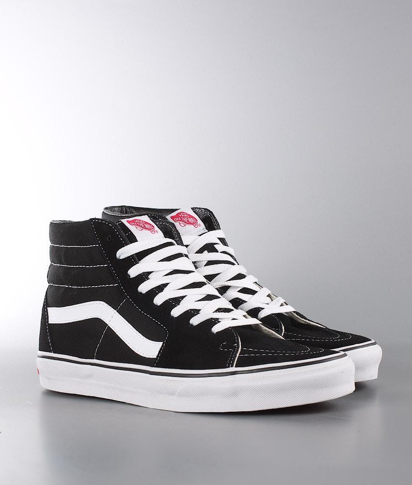 Vans Sk8-Hi Skor Black/Black/White