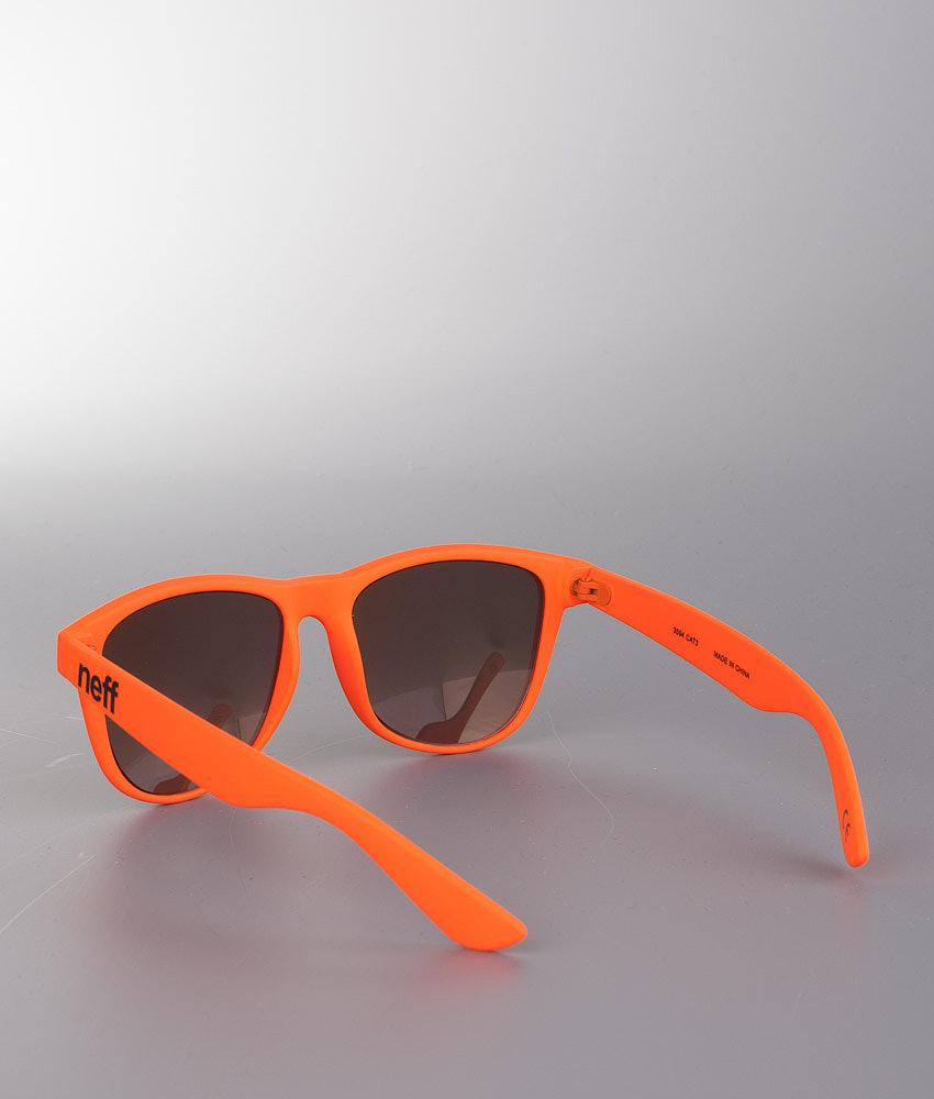 c15a833af79 Neff Daily Sunglasses Orange Rubber - Ridestore.com