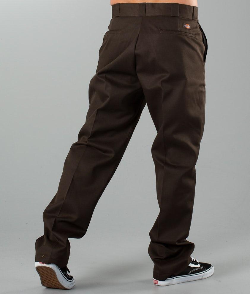 Dickies Original 874 Work Pant Bukser Dark Brown