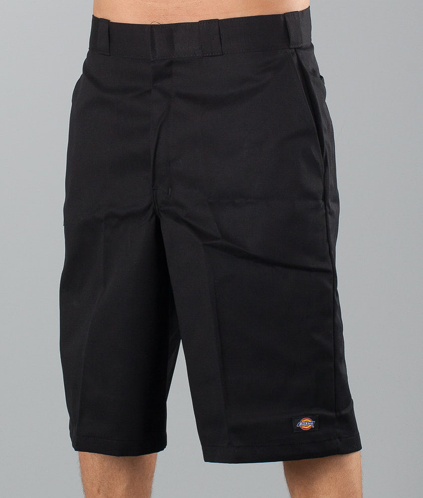 "Dickies 13"" Multi-Pocket Work Short Shorts Black"