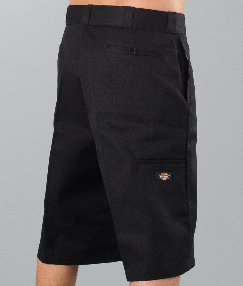 "Dickies 13"" Multi-Pocket Work Short Shorts Black"