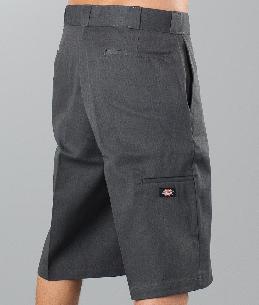 "Dickies 13"" Multi-Pocket Work Short Shorts Charcoal Grey"