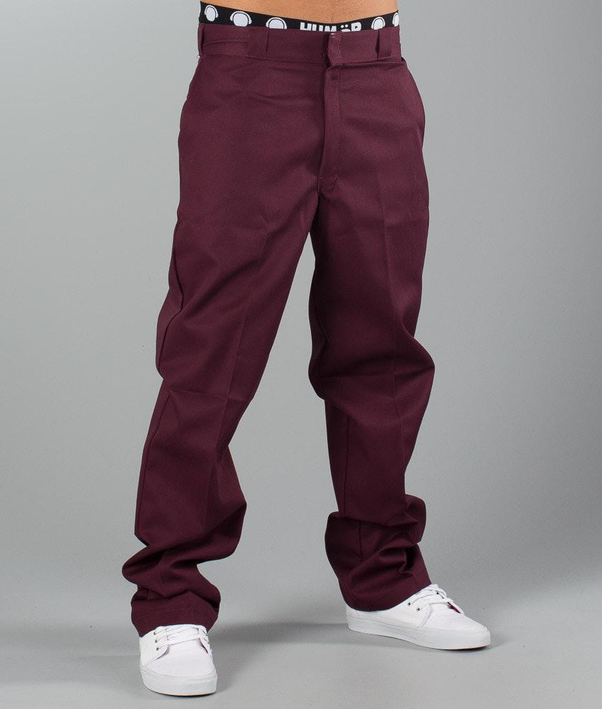 7ae4aee7a3e Dickies Original 874 Work Pant Pants Maroon - Ridestore.com