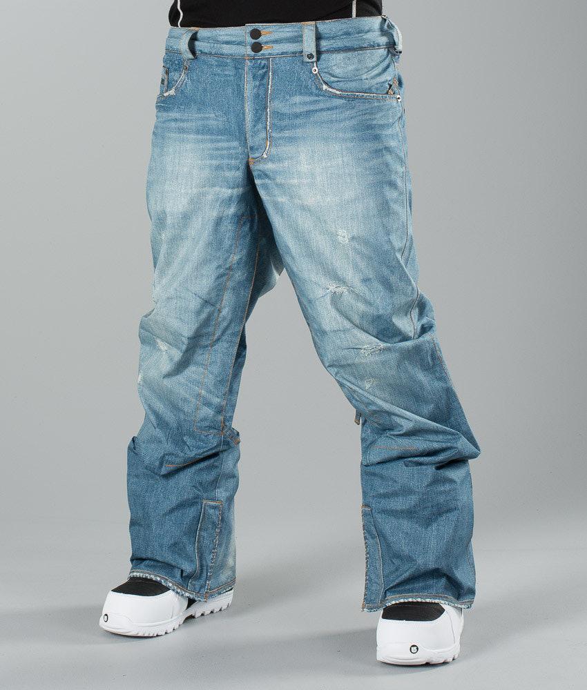 af3de751d Burton Jeans Snow Pants Blue Denim - Ridestore.com