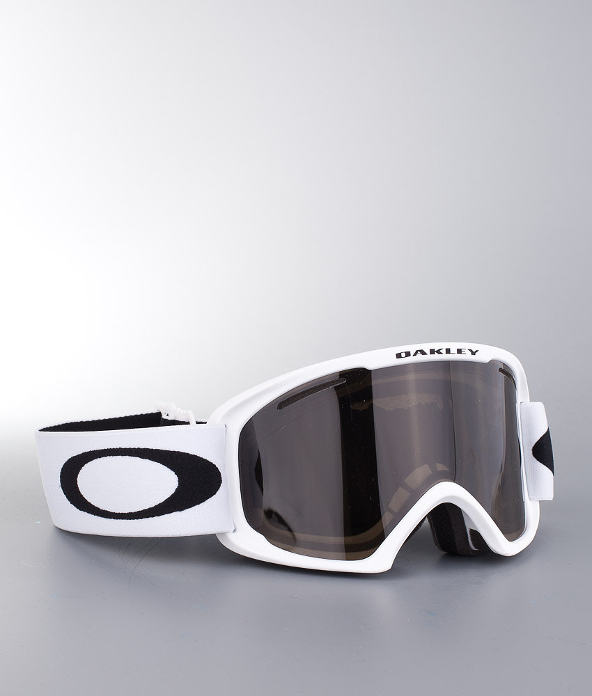 2efddd5c09 Oakley O2 XL Skidglasögon Matte White w Dark Grey - Ridestore.se