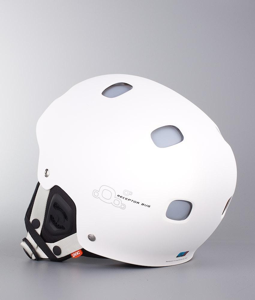 Poc Receptor Bug Casque de Ski Hydrogen White