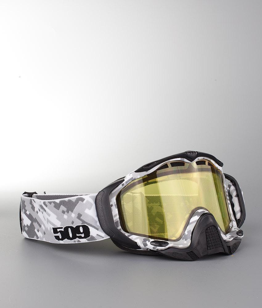 ef282deacd1a 509 Sinister X5 Snowmobile Goggle Digital Camo w Chrome Mirror ...