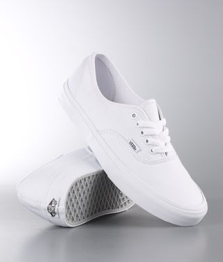 stable quality outlet store sale save up to 80% Vans Authentic Shoes True White