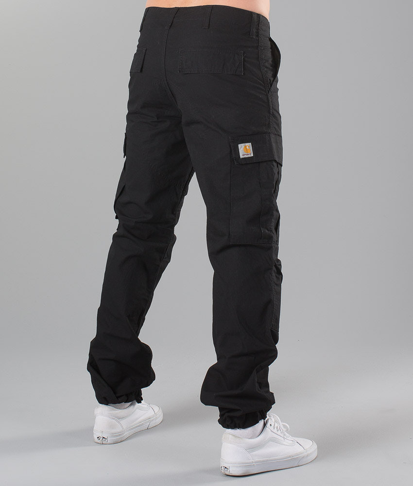 d9c9ab95a206df Carhartt Regular Cargo Pants Black - Ridestore.com
