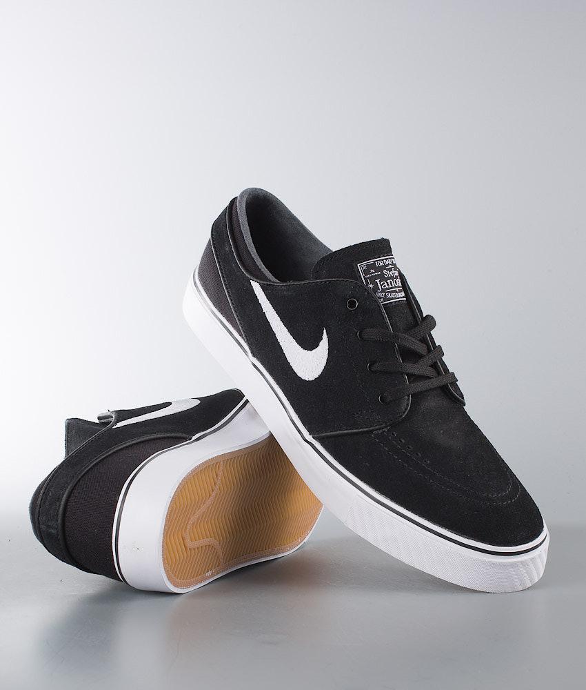 e9c529f089ae0 Nike Zoom Stefan Janoski Shoes Black White - Ridestore.com