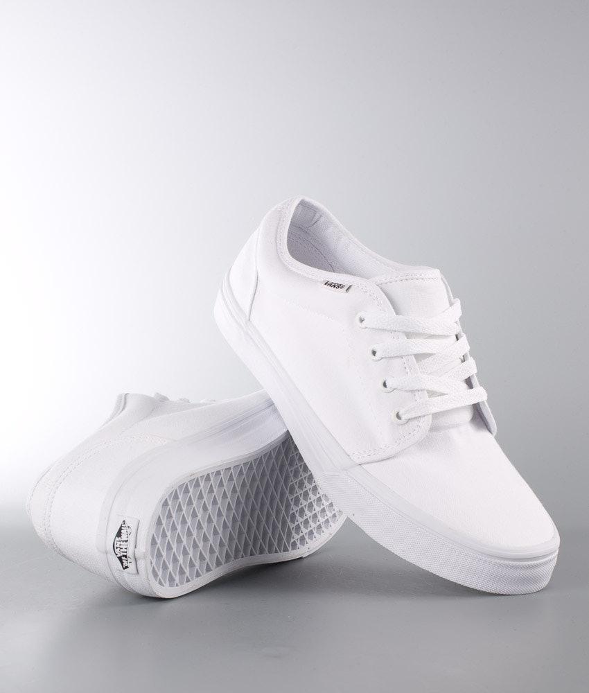 Vans 106 Vulcanized Shoes True White - Ridestore.com aaea6fef7d4b