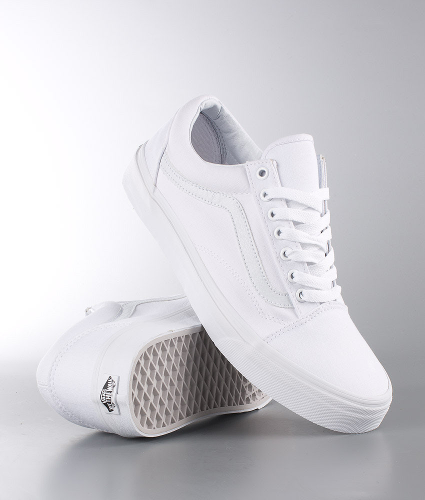 Vans Old Skool Unisex Skor True White