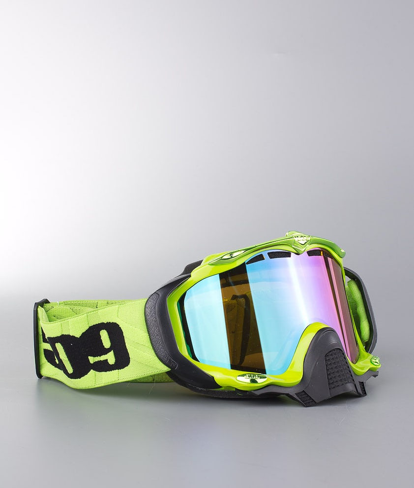 509 Sinister X5 Goggle Scooter Lime Green