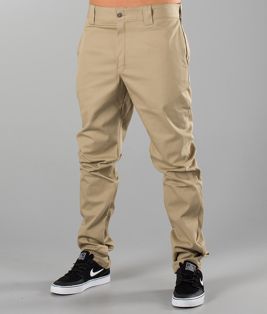 Dickies Slim Skinny Pant Pants British Tan
