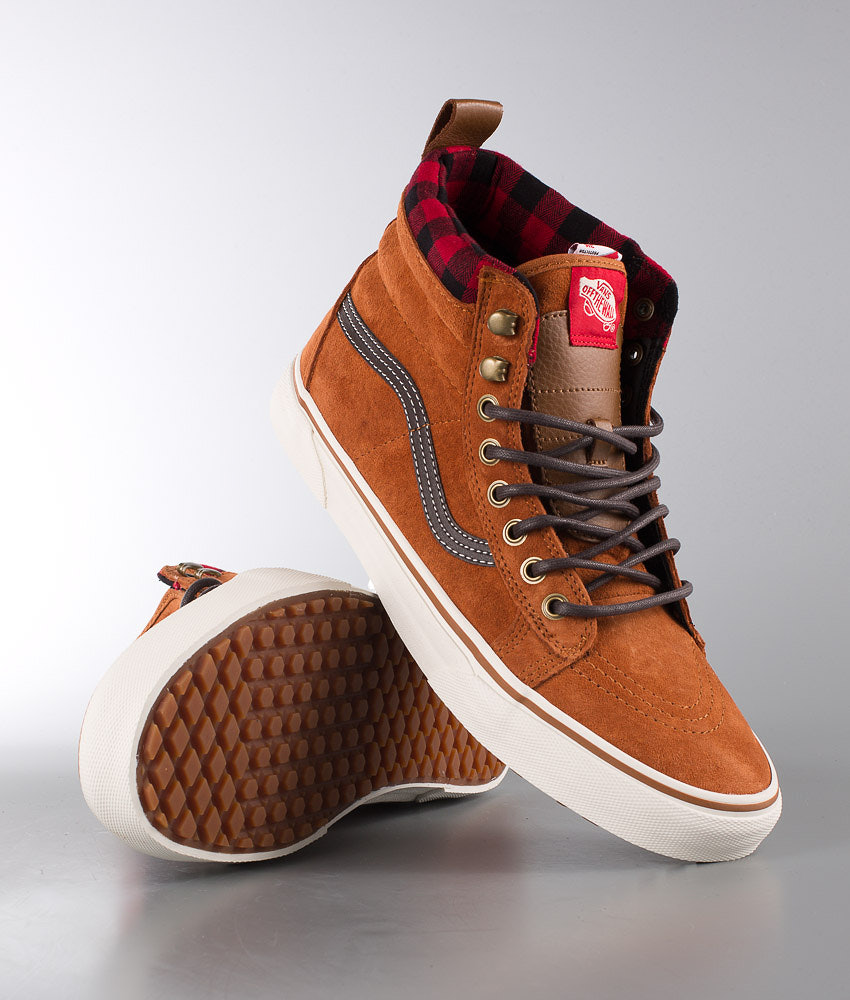 d575bd966cd143 Vans Sk8-Hi MTE Shoes Glazed Ginger - Ridestore.com