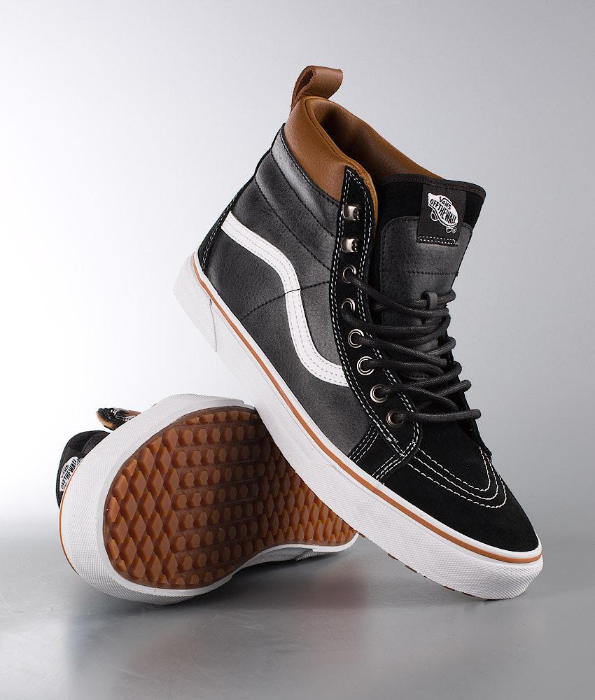Vans Sk8-Hi MTE Shoes Black True White - Ridestore.com d4f4a2740
