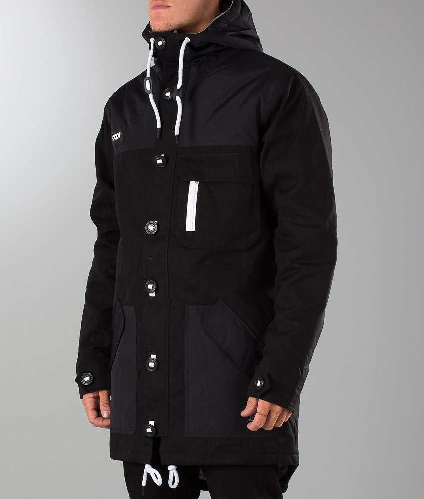a4b5cc3b Dope Eskimo Jacka Black/Black - Ridestore.se