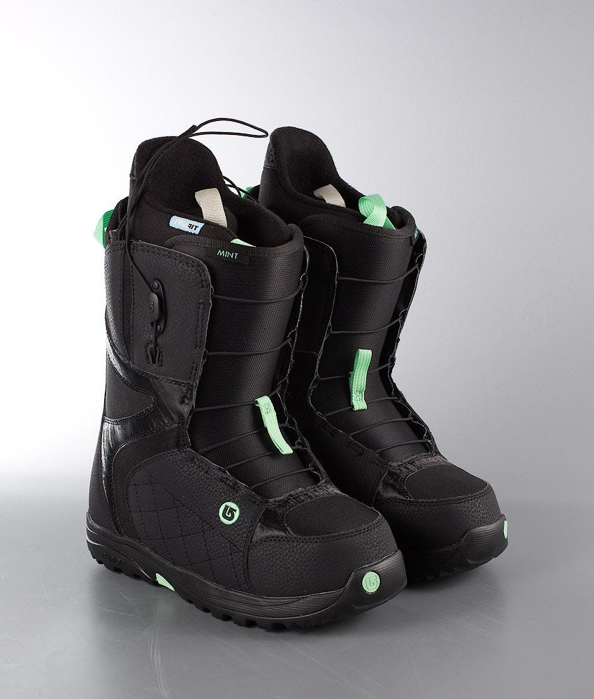 2b3271b846 Burton Mint Snowboard Boots Black Mint - Ridestore.com