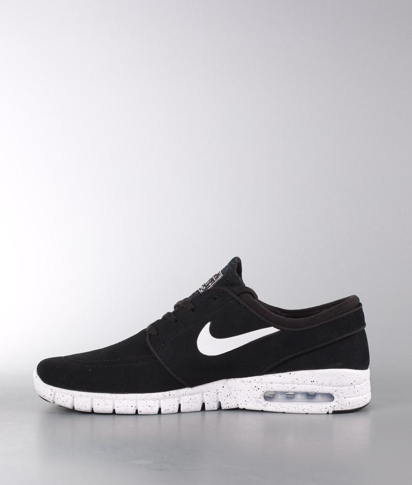 Nike Blackwhite Leather Stefan Schuhe Janoski Max KFTl13Jc