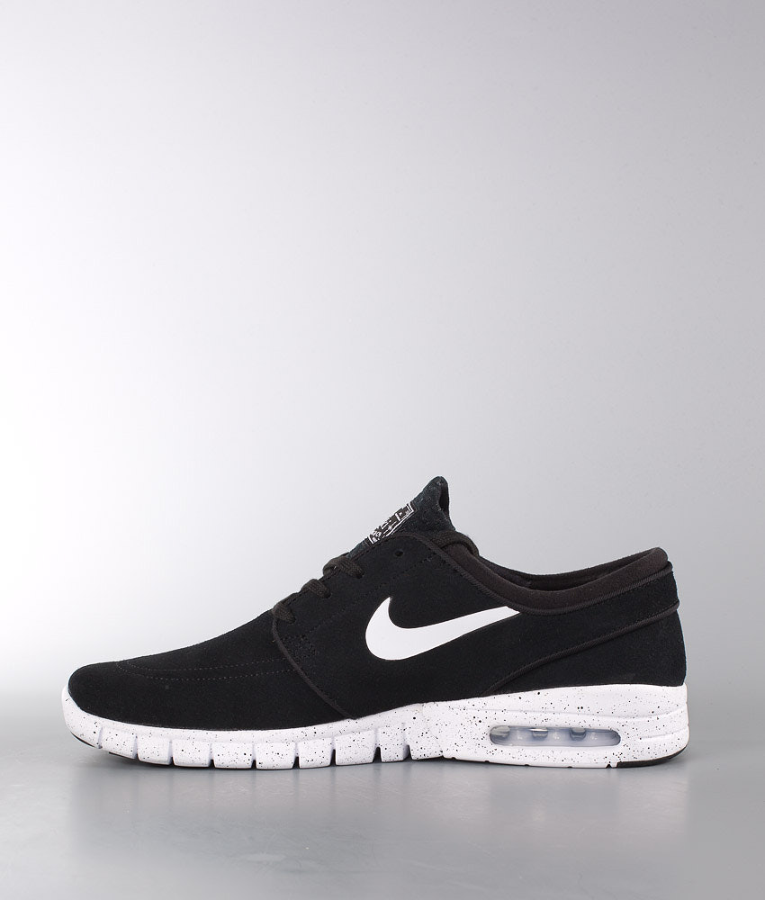 525a5a7ef1b5 Nike Stefan Janoski Max Leather Shoes Black White - Ridestore.com