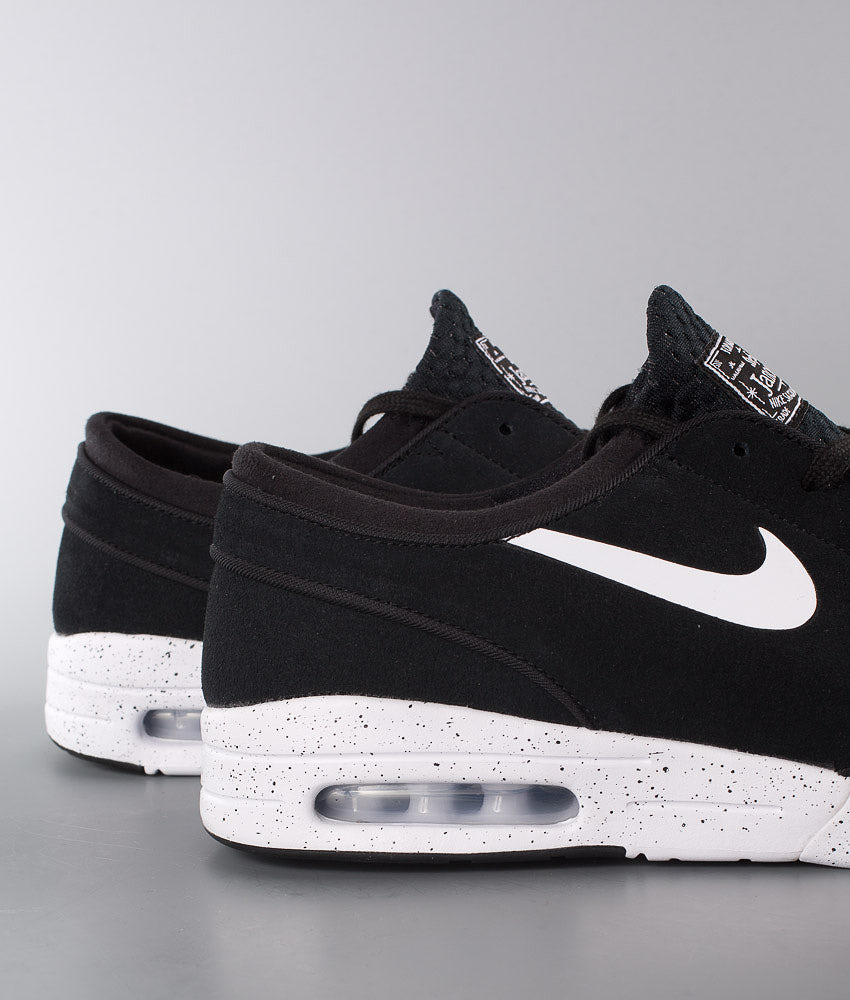 store huge selection of sneakers for cheap Nike Stefan Janoski Max Leather Shoes Black/White