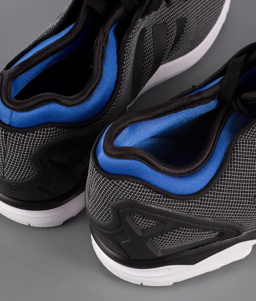 163ab82a33d9 Adidas Originals Zx Flux Nps Shoes Black Power Blue - Ridestore.com