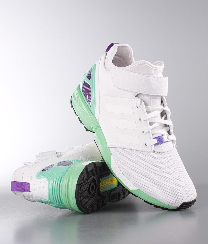 6257d53da Adidas Originals ZX Flux Nps Mid Shoes Ftwr White Ftwr White Core ...