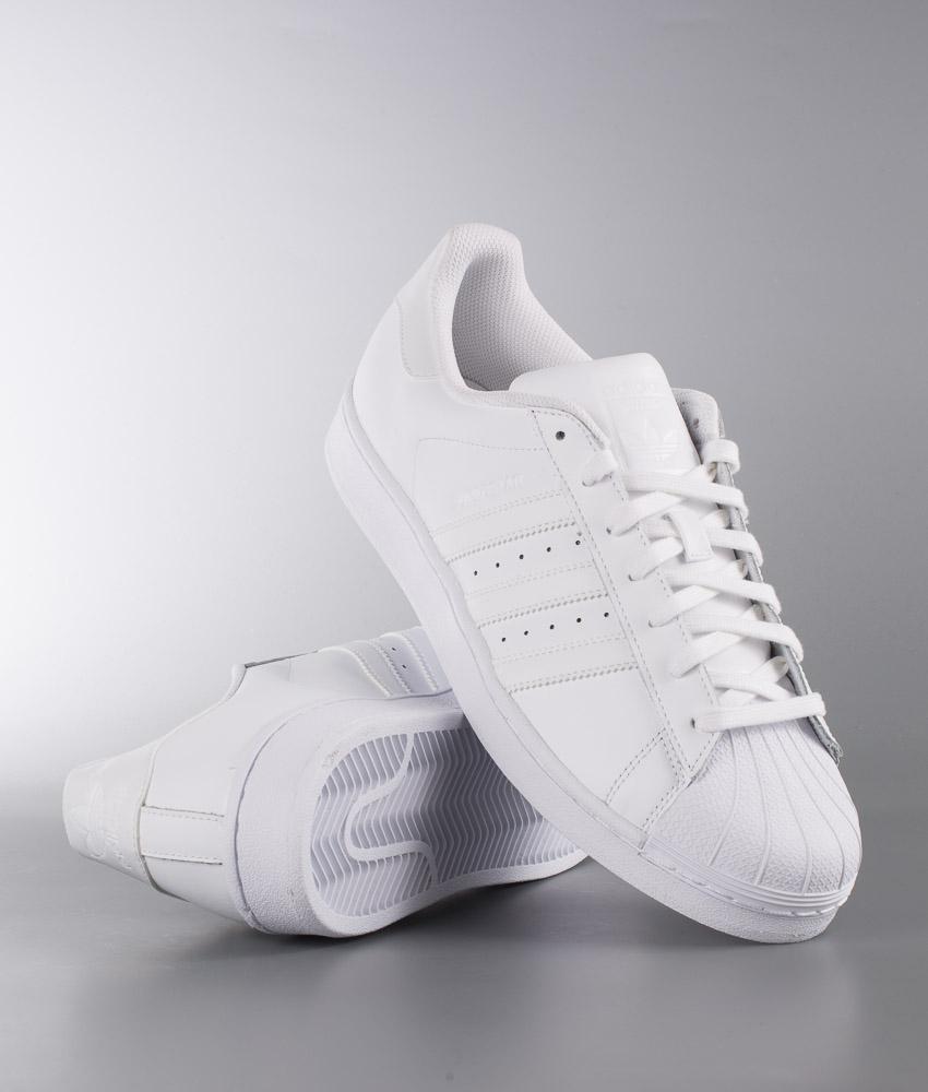 Adidas Originals Superstar Fundación ftwr ftwr zapatos blanco / blanco