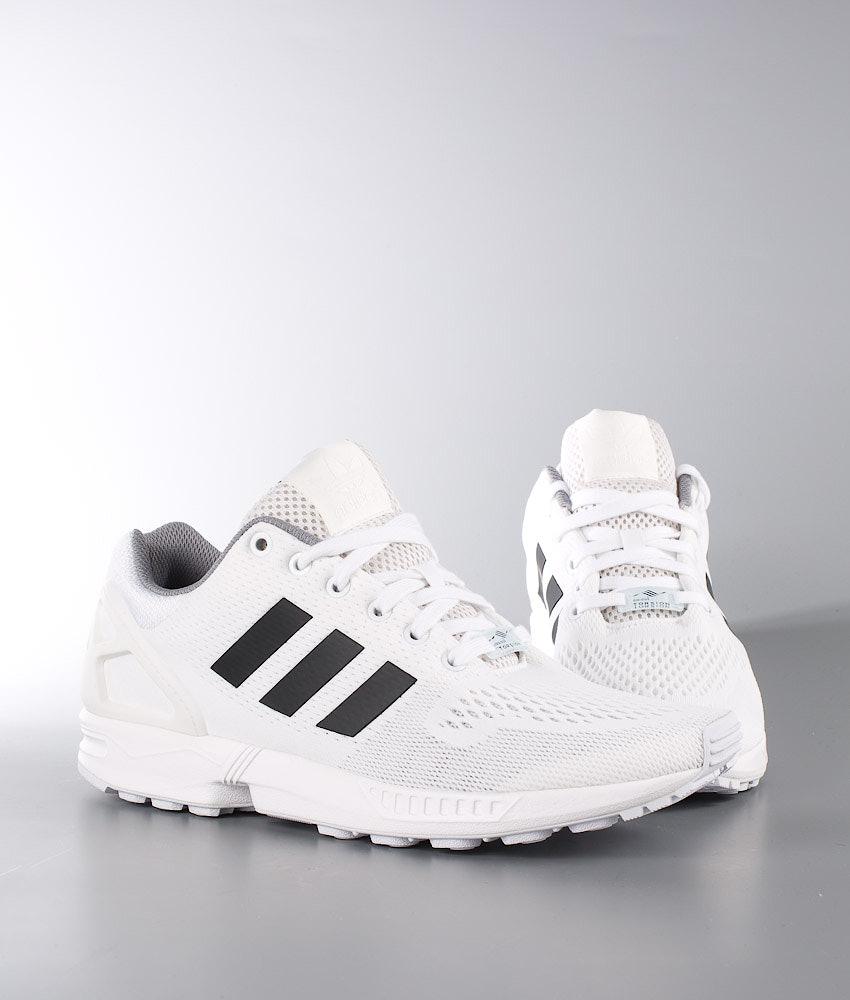 d5d9d99a540ac Adidas Originals ZX Flux Shoes Ftwr White Core Black Granite ...