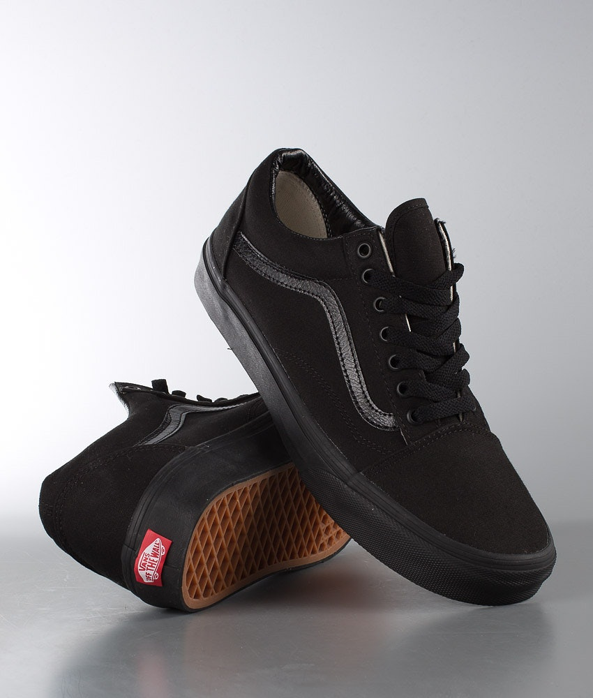 Vans Ua Old Skool Skor Black/Black