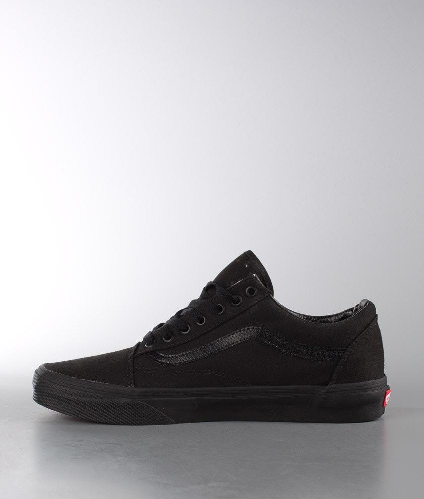 Vans Old Skool Sko Black/Black