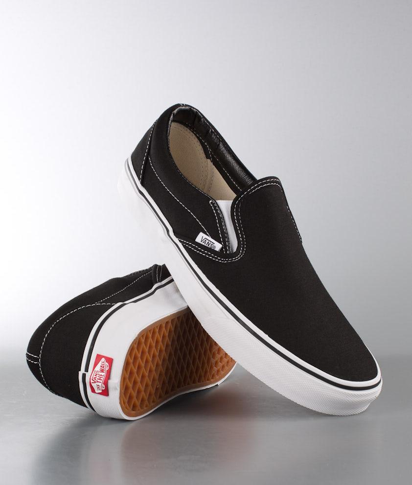 Vans Classic Slip-On Sko Black