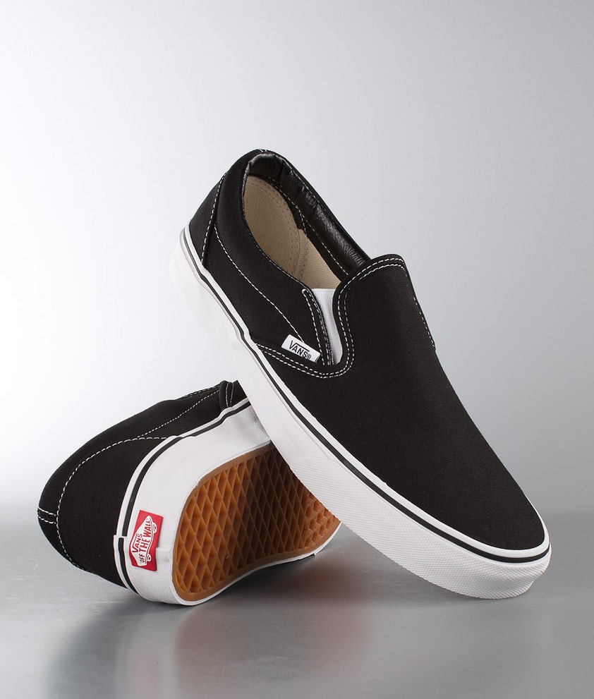 Vans Classic Slip-On Sko Black