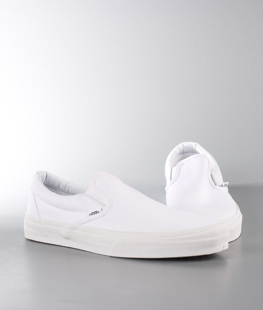 White Classic True Schuhe On Slip Vans qXwHOYY