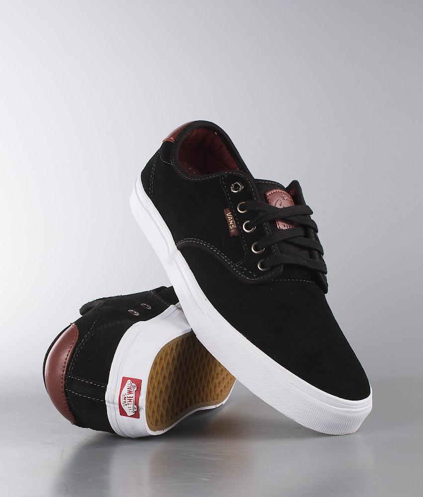 06af87a282 Vans Chima Ferguson Pro Shoes Black Mahogany - Ridestore.com
