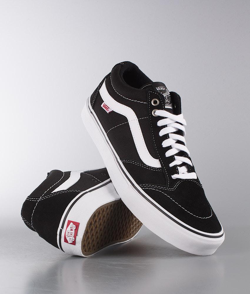 104db75c63108b Vans TNT SG Shoes Black White - Ridestore.com