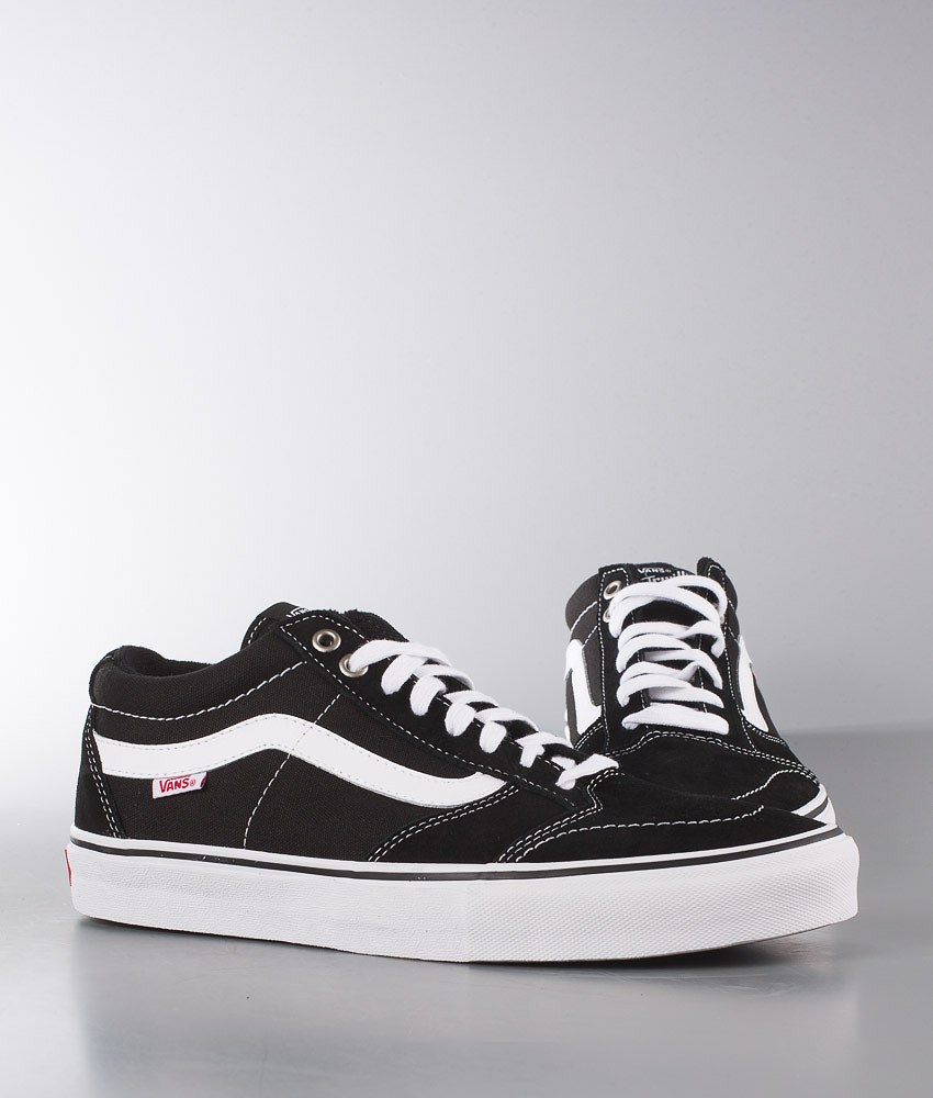 33b78916502c Vans TNT SG Shoes Black White - Ridestore.com